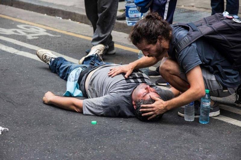 REPRESIÓN EN ARGENTINA POR EL ESTADO NACIONAL